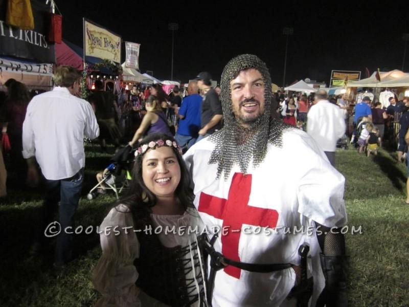 Coolest Homemade Crusader Knight Renaissance Fair Costume - 3