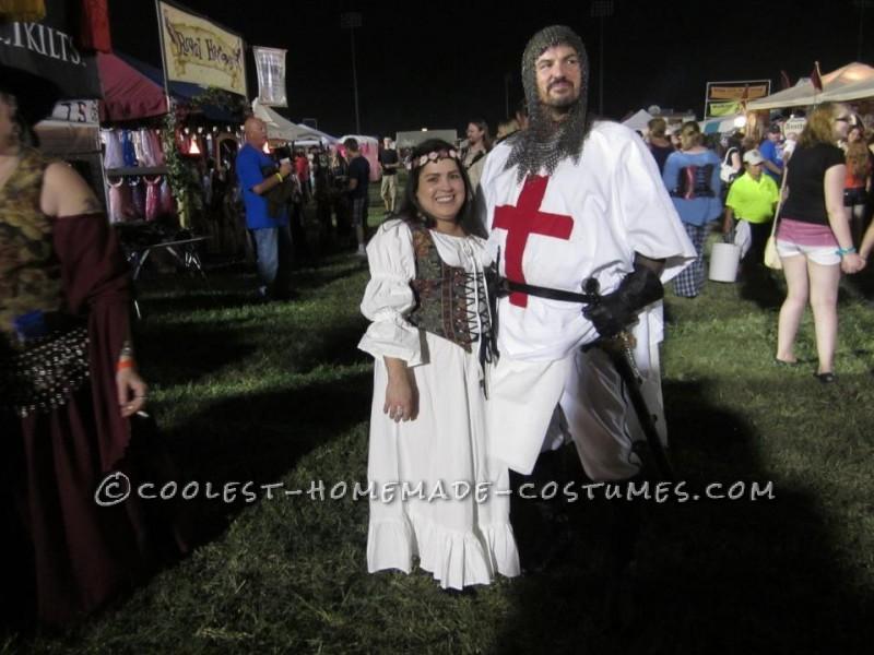 Coolest Homemade Crusader Knight Renaissance Fair Costume - 4