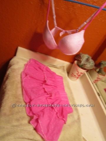 DIY Super Pink and Glam Sexy Princess Peach Costume