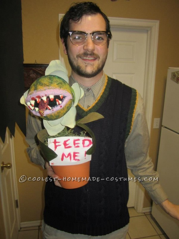 Epic Little Shop of Horrors Costume Complete with Audrey II