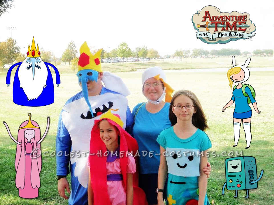 Coolest Adventure Time Costumes for a Family