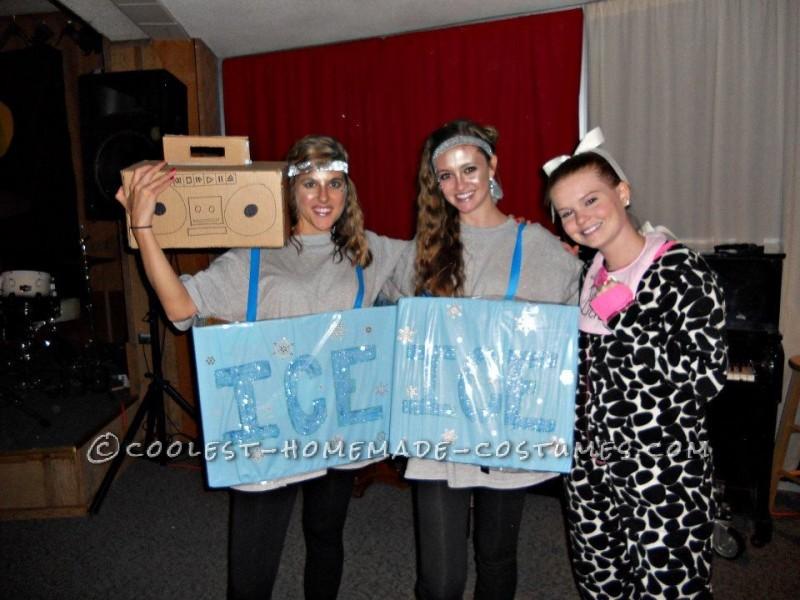 "Original ""Ice Ice Baby"" Wordplay Group Costume"