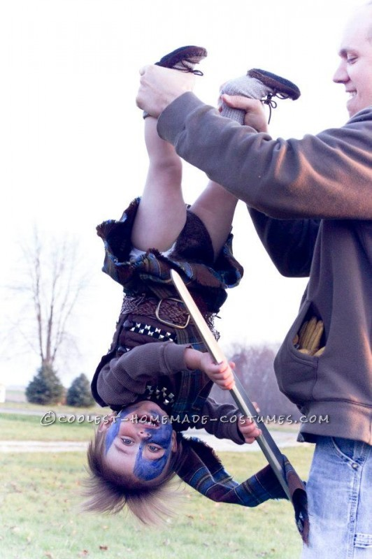 Just a Boy and His Broadsword: Transforming a Toddler into William Wallace (aka Braveheart)