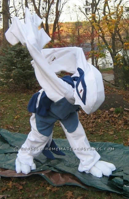Coolest Lugia Pokemon Kigurumi Costume - 6