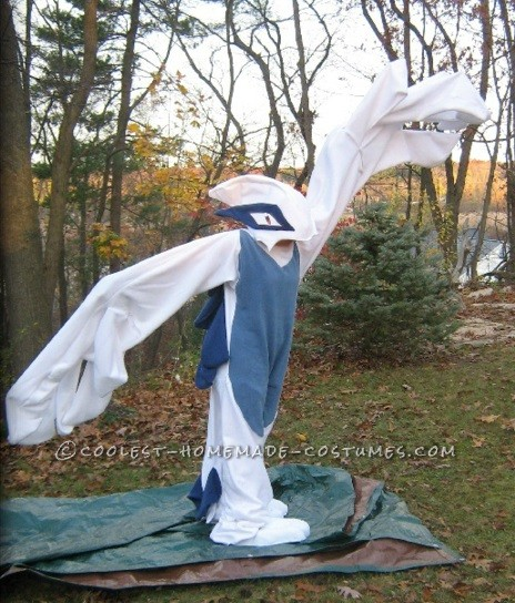 Coolest Lugia Pokemon Kigurumi Costume - 5