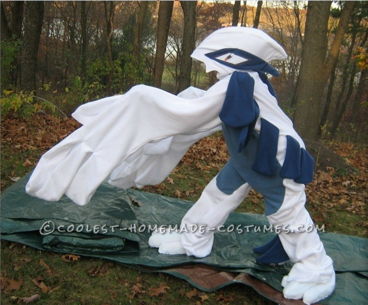 Coolest Lugia Pokemon Kigurumi Costume - 4