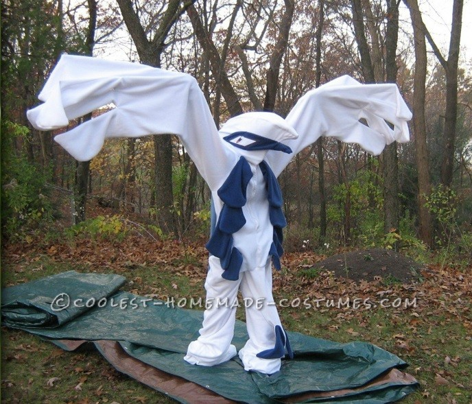 Coolest Lugia Pokemon Kigurumi Costume - 3