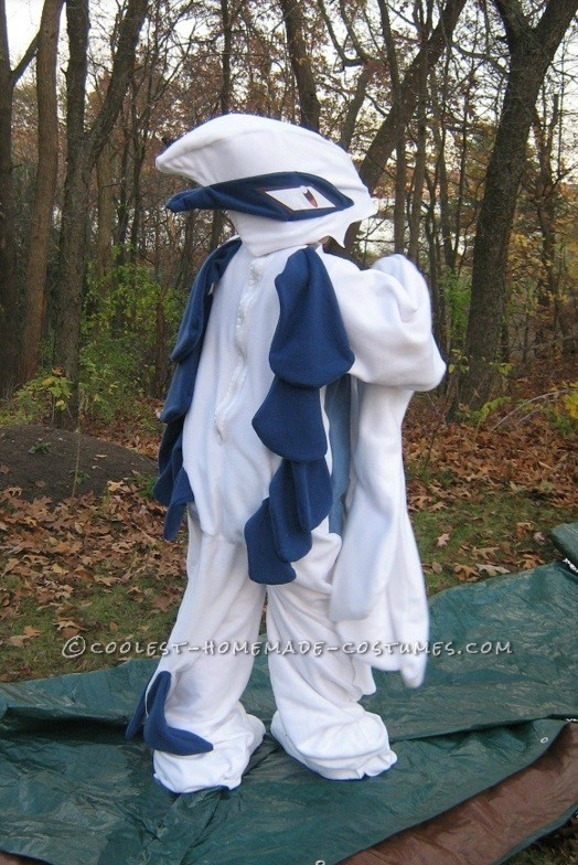 Coolest Lugia Pokemon Kigurumi Costume - 2