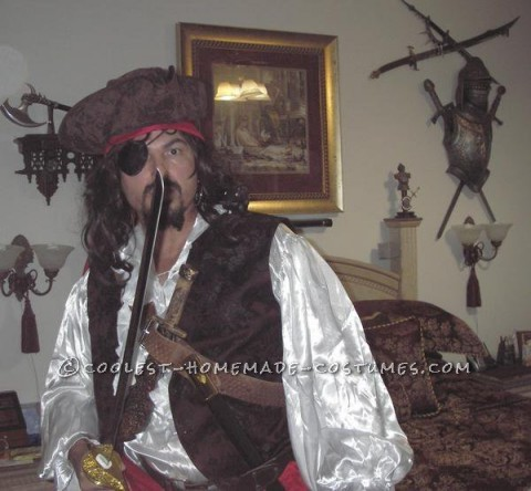 Coolest Homemade Pirate Costume
