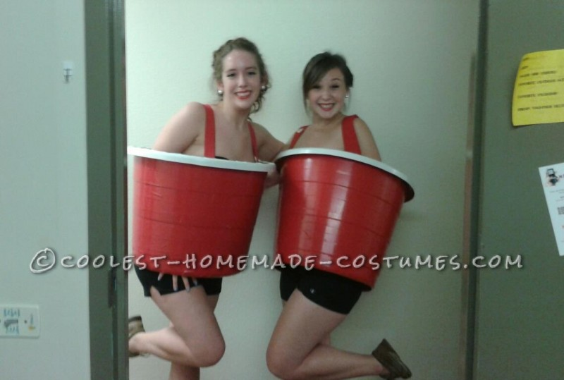 Sexy Red Solo Cups College Costume