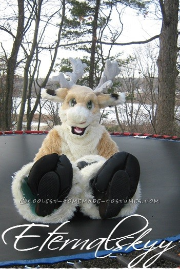 Coolest Handmade Reindeer Fursuit Costume