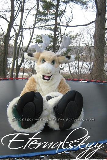 Coolest Handmade Reindeer Fursuit Costume - 2