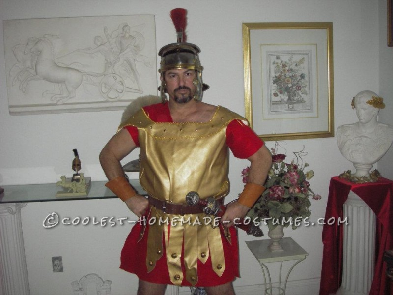 Cool Homemade Roman Soldier Costume - 1