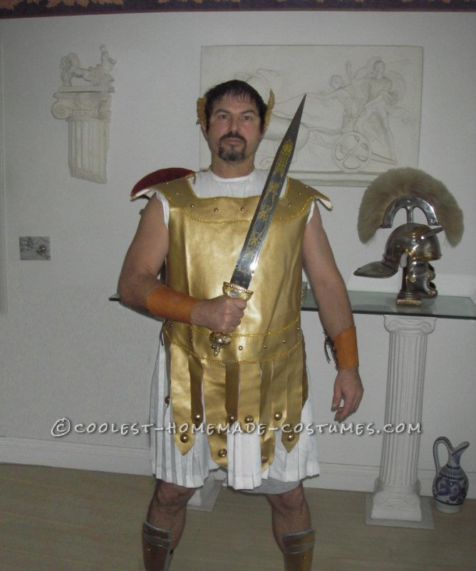 Cool Homemade Roman Soldier Costume - 2