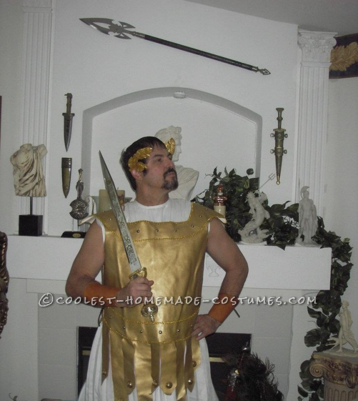 Cool Homemade Roman Soldier Costume