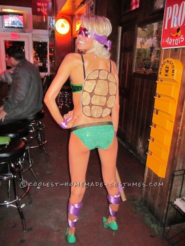 Sexy, Politically Correct, No-Sew TMNT Costume!