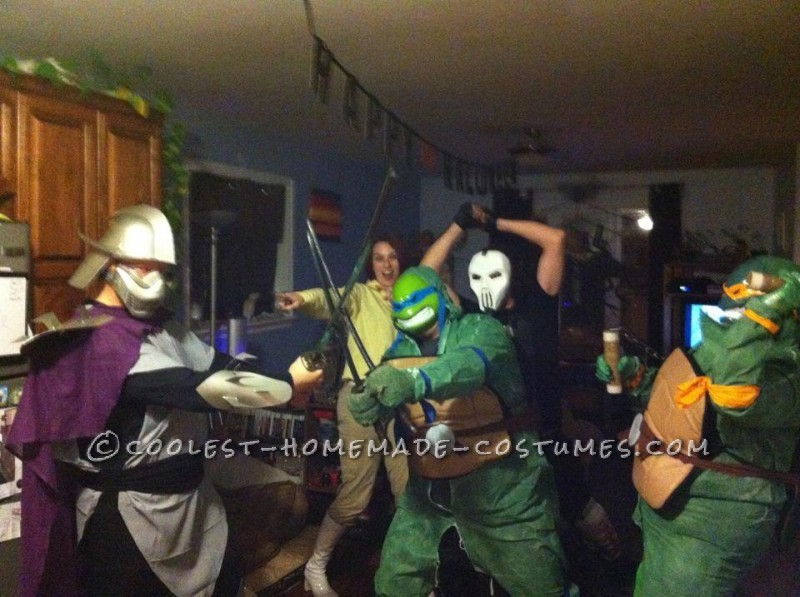 Teenage Mutant Ninja Turtles Couples Costume