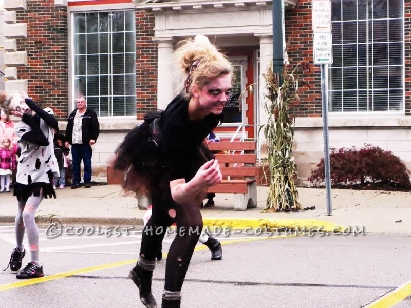 Step-by-Step Homemade Dead Ballerina Costume