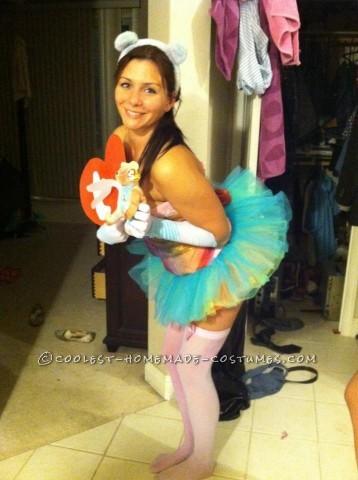 Cute TY Peacebear Beanie Baby Costume