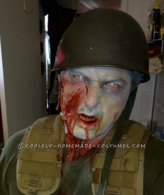Creepy Zombie Soldier Costume