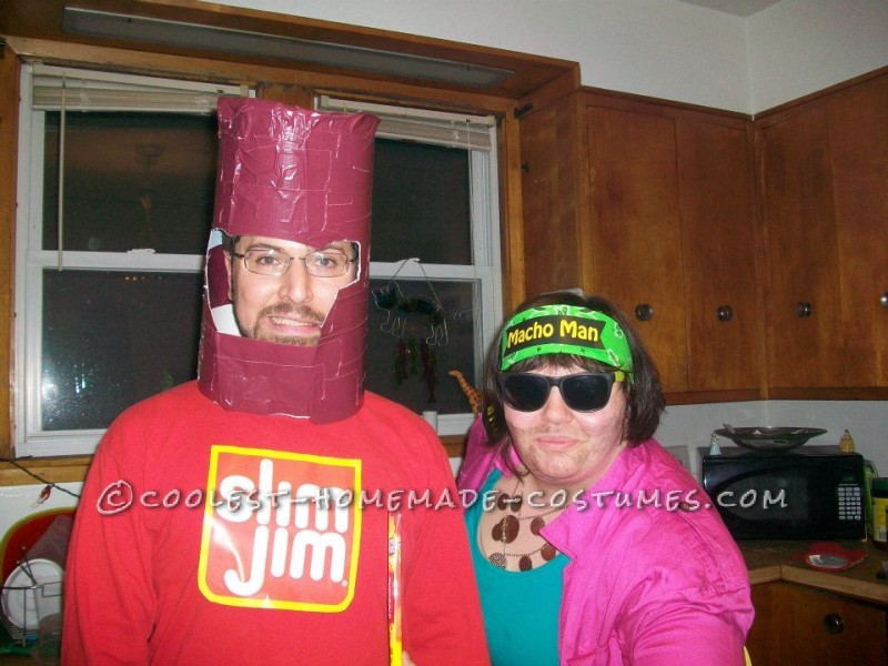 Best Couple's Costume Ever: Macho Man Randy Savage and a Slim Jim
