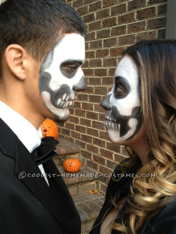 Bone Chilling Prom Date Couple Halloween Costume