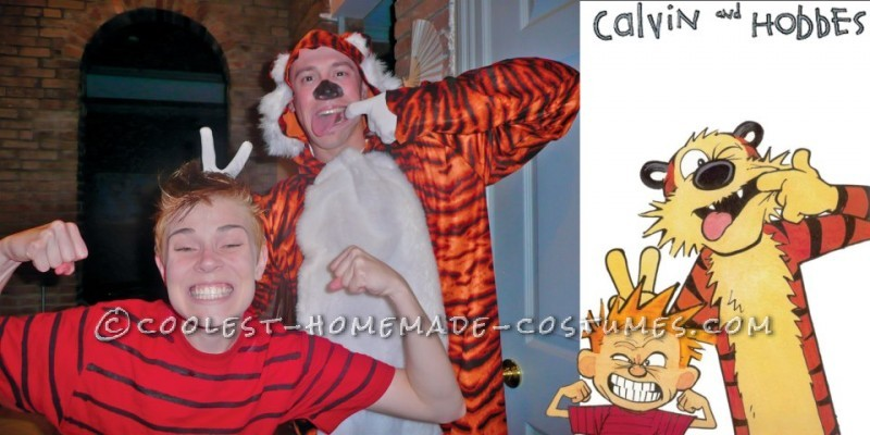 Cute Couples Costume Calvin And Hobbes