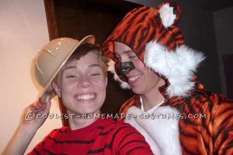 Cute Couples Costume: Calvin and Hobbes