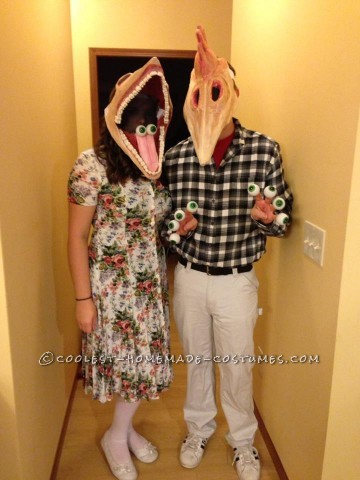 Deceased Couple From Beetlejuice Costumes