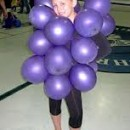 Easy Grape Costume for the Little Ones