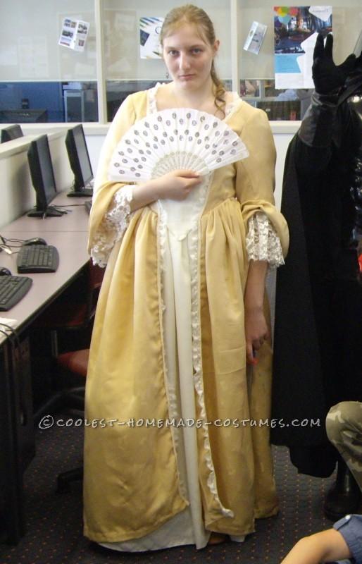 Elizabeth Swan's Golden Gown