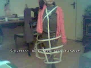 Homemade Raving Rabbid Costume