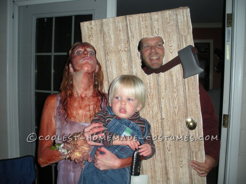 Homemade Horror Family Costume