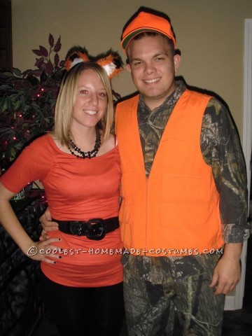 Cool Hunter and Fox Couples Halloween Costume