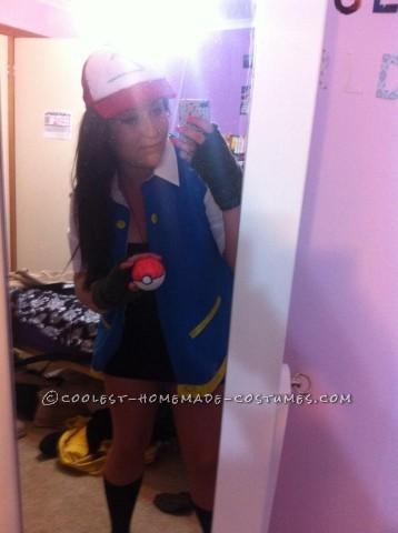 Last-Minute Ash Ketchum Costume