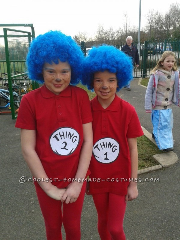 Erin and Caitlin Aka thing1 and thing2