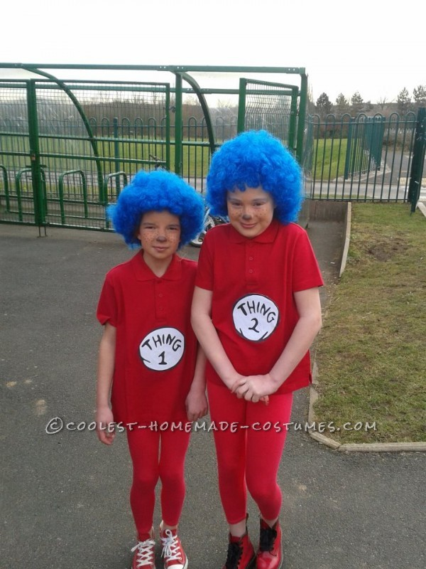 Erin and Caitlin Thing1 & Thing2