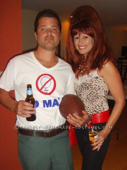 Married with Children Couple Halloween Costume