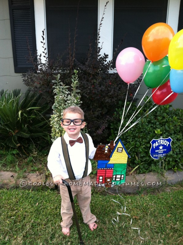 Last-Minute Mr. Fredrickson Costume from the Movie Up