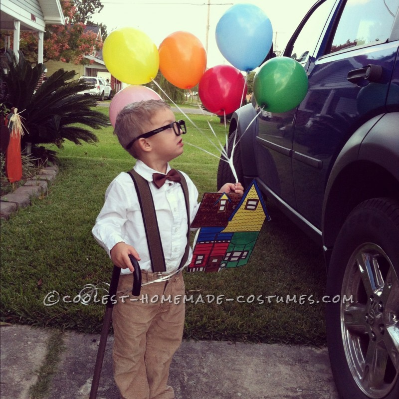 last minute mr fredrickson costume from the movie up
