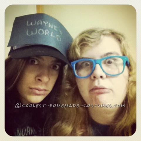 Last-Minute Homemade Wayne and Garth Couples Halloween Costume