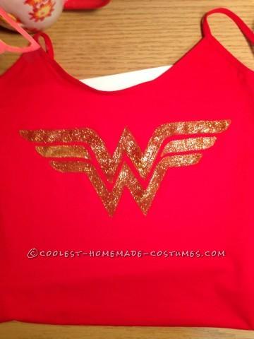 Cool Homemade Wonder Woman Costume