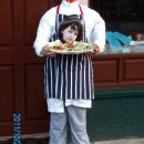 Awesome Headless Illusion Costume: A Headless Butcher Goes to School