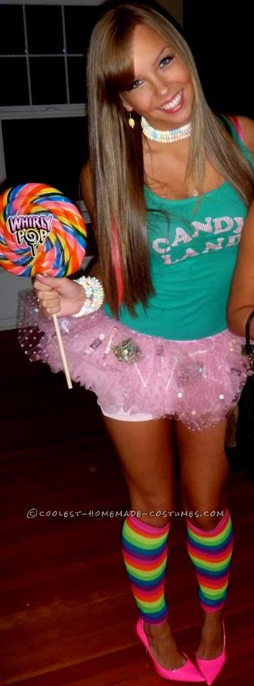 Sexy Candy Land Costume