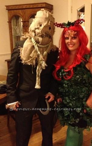 Coolest Batman Villains Group Costume: Poison Ivy, Bane, Scarecrow