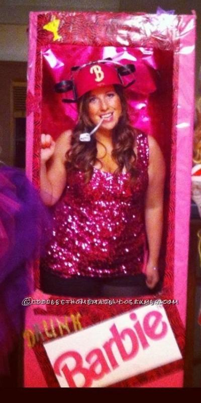 Coolest Drunk Barbie Halloween Costume