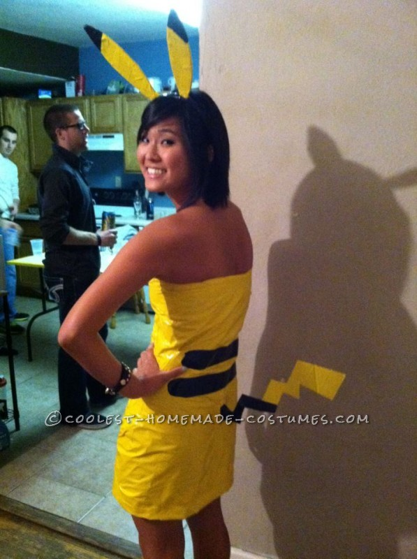 Cutest Ash and Pikachu Halloween Couple's Costume! - 1