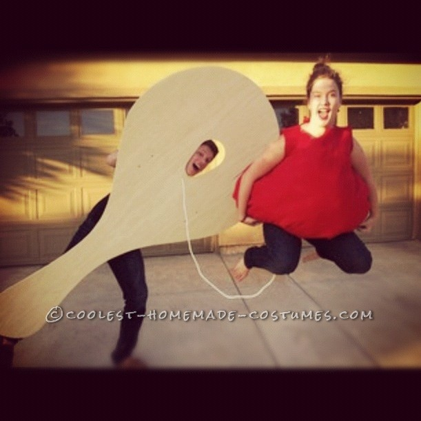 Cutest Couple Paddle Ball Costume