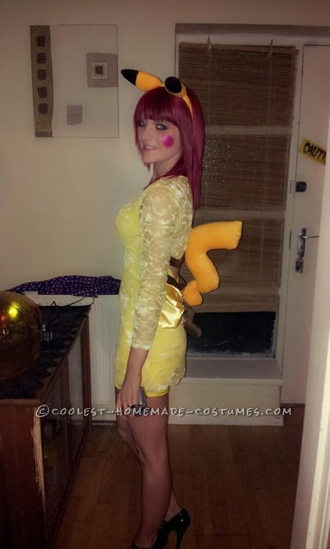 Easy Pikachu Halloween Costume
