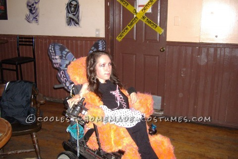 """Impossible"" Fairy On Wheels Halloween Costume"